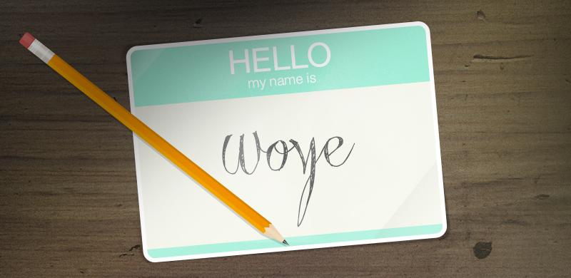 Velkommen til WOYE's blog