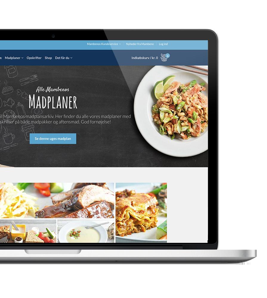 WOYE Webdesign for Mambeno