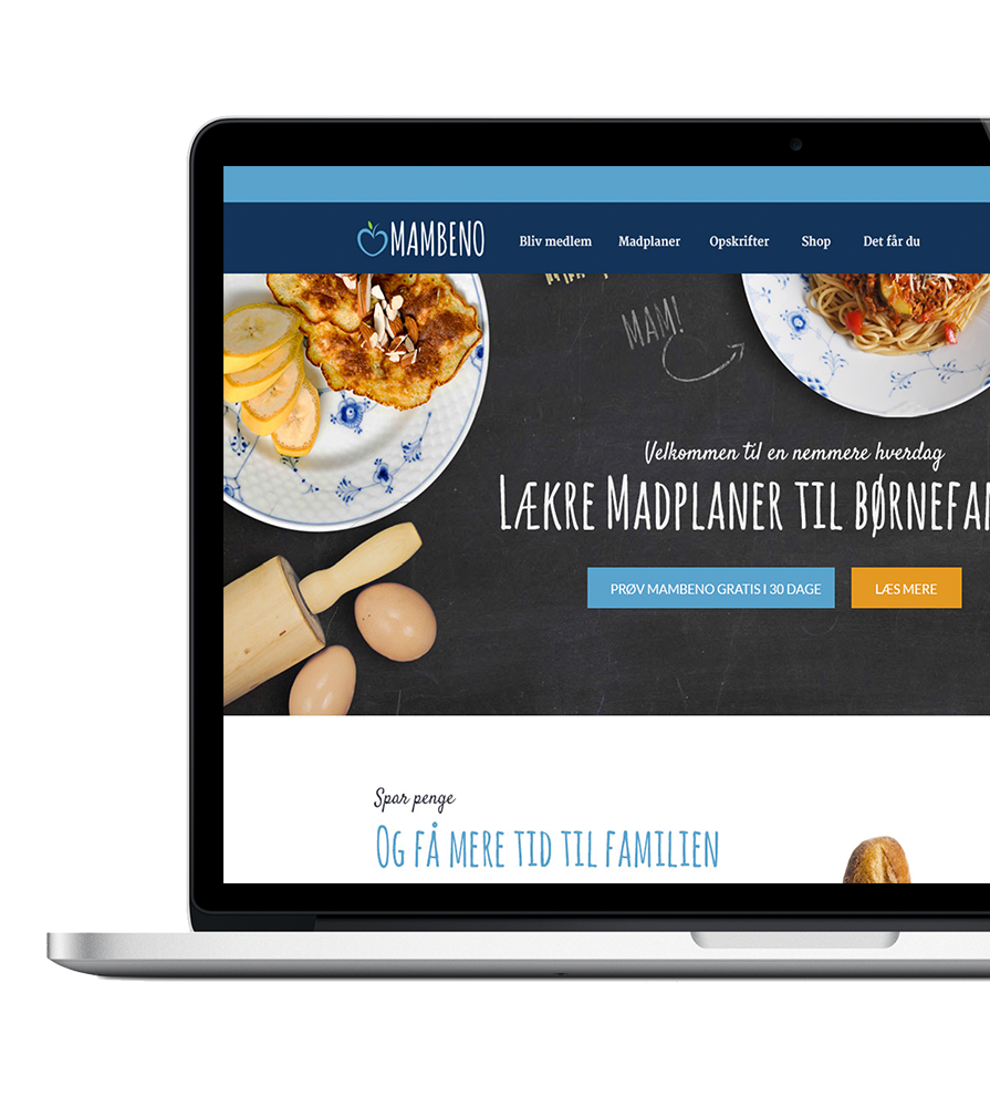 WOYE Webdesign for Mambeno