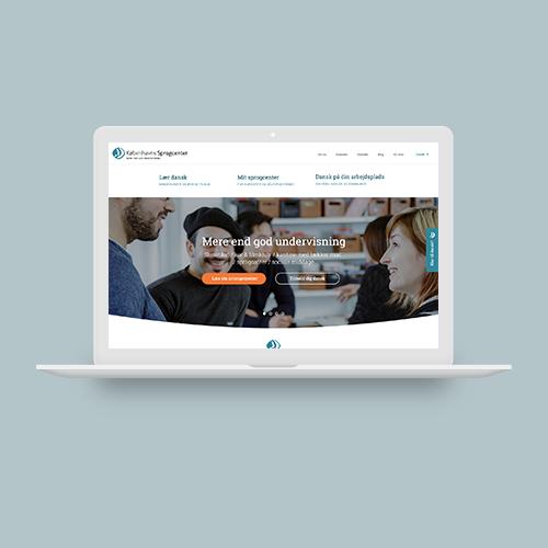 WOYE webdesign til Københavns Sprogcenter